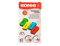 Kores White board magnetic eraser mix 1ks