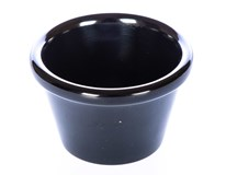Miska APS Dip melamin 6x3,7cm černý 1ks