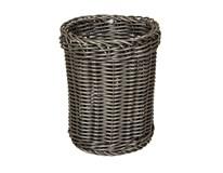 Košík na příbory plastový 12cm antracit 1ks
