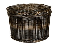 Košík na vajíčka plastový 26cm černý 1ks