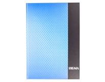 Kniha záznamní Sigma linkovaná A4 80 listů modrá 1ks