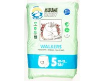 Pleny dětské Muumi Baby Walkers maxi+ 38ks