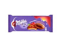 Milka Jaffa piškoty malinové, mléčná čokoláda 1x147g