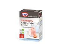 Dr. Oetker Professional Cheesecake jahodový krémový 1x1kg