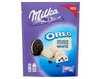 Milka Oreo Minis bílá čokoláda 1x153g