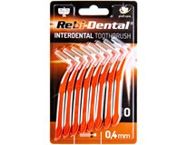 Rebi-Dental kartáček mezizubní 0,4mm 8ks