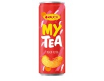 Rauch My tea broskev čaj ledový 24x330ml
