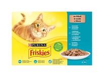 Friskies kapsička pro kočky losos/tuňák/treska/sleď 4x85g
