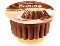 Müller Puding čokoláda/vanilka 1x450g