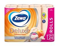 Zewa de luxe Cashmere peach toaletní papír 3vrstvý 1x24ks