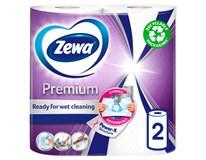 Utěrky kuchyňské Zewa Premium 2vrstvé 2ks