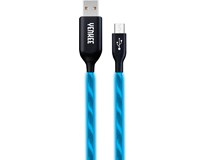 Kabel USB/micro Yenkee 231BE LED 1ks