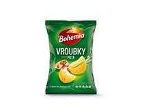 Bohemia Chipsy vroubkované s příchutí pizza 15x65g