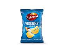 Bohemia Vroubkované solené chipsy 15x65g