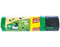 Pytle do odpadkového koše Fino Green life zatahovací 60L 25ks