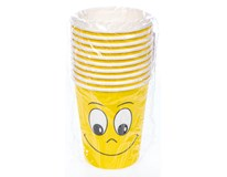 Kelímky Smiley 280ml 10ks