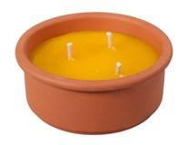 Svíčka Nohel Garden Citronella v misce 144h hoření 1ks