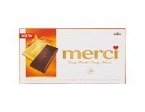 Merci čokoláda Pomeranč/Mandle 1x100g
