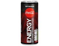 Coca Cola Energy bez cukru 24x250ml