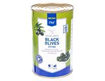 Metro Chef Olivy černé  bez pecek 1x4,25L