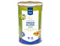Metro Chef Olivy zelené krájené 1x4,25L