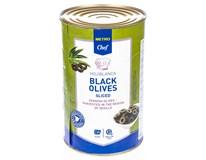 Metro Chef Olivy černé krájené 1x4,25L