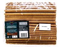 Brčka papírová Kraft 8/240 100ks