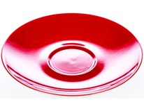 Podšálek Ritzenhoff Breker doppio Red 16cm porcelán 1ks