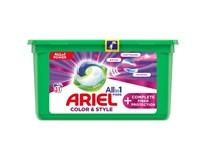 Ariel Color&Style Complete All in 1 Gelové tablety na praní prádla 1x31ks