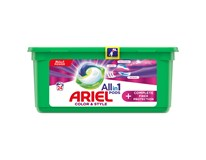 Ariel All in 1 Color&Style Complete Fiber Prot. Gelové tablety na praní 1x24ks