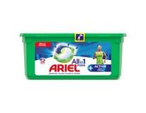 Ariel All in 1 Active Odor Defense Gelové tablety na praní 1x24ks