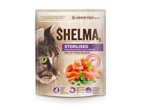 Shelma Sterilised Losos krmivo pro kočky 1x0,75kg