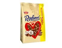 Sedita Rodinné Srdíčka kokosovo-kakaové 10x170g