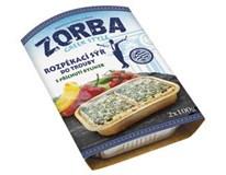 Zorba Greek Style Sýr na gril/ do trouby s příchutí bylinek chlaz. 2x100g