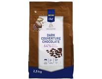Metro Chef Čokoládové čočky hořká čokoláda 64% 1x2,5kg