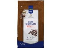 Metro Chef Čokoládové čočky hořká čokoláda 50% 1x2,5kg