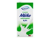 Pragolaktos Mléko trvanlivé odstředěné 0,5% 12x1L