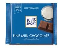 Ritter Sport Fine Milk Chocolate Mléčná čokoláda 12x100g