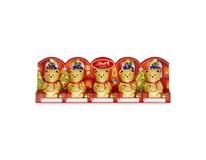 Lindt Teddy Medvídek duté figurky z mléčné čokolády 5x10g (50g)