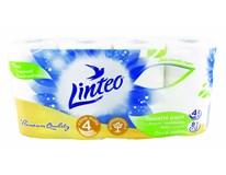 Linteo Toaletní papír 4-vrstvý bílý 1x8ks