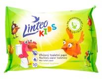 Toaletní papír vlhčený Linteo Kids splachovací 1x50ks