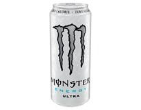 Monster Energy Ultra Zero sycený energetický nápoj 12x500ml