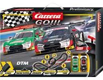 Autodráha Carrera Go Winners 620cm černá 1ks