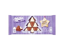 Milka Sweet Winter Mléčná a bílá čokoláda 1x100g