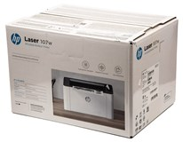 HP Laser 107W Wireless Mono Laser Printer White 1ks