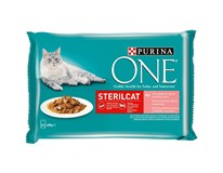 Purina One Sterilcat Kapsička mix 4x85g