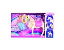Barbie Princess Adventure Princezna a kůň se světly 1ks