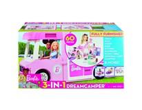 Barbie Dreamcamper Karavan snů 3v1 s příslušenstvím 1ks