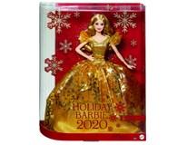 Barbie Holiday 2020 Vánoční panenka blondýnka 1ks