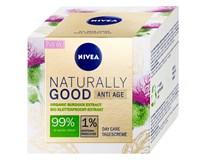Nivea Naturally Good Denní krém proti vráskám 1x50ml